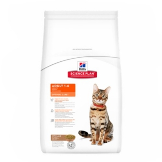 Hill´s Feline Adult Optimal Care Lamb 10kg