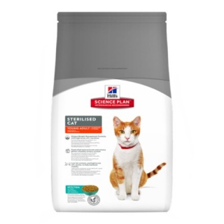 Hill´s Feline Sterilised Cat Young Adult Tuna 3,5kg
