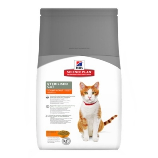 Hill´s Feline Sterilised Cat Young Adult Chicken 3,5kg