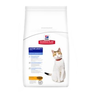 Hill´s Feline Mature Adult 7+ Active Longevity 10kg