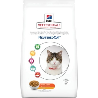Hill's Feline VetEssentials Dry Neutered Young Adult 1,5kg
