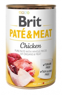 Brit Paté & Meat - Chicken konzerva 400g