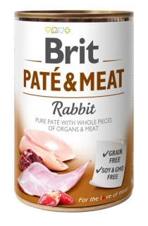Brit Paté & Meat - Rabbit konzerva 400g