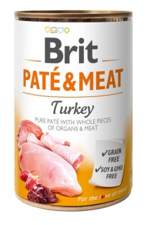 Brit Paté & Meat - Turkey konzerva 400g