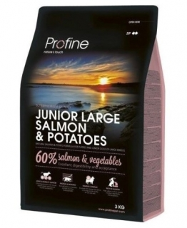Profine Junior Large Breed Salmon & Potatoes 3kg