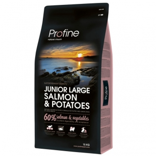 Profine Junior Large Breed Salmon & Potatoes 15kg