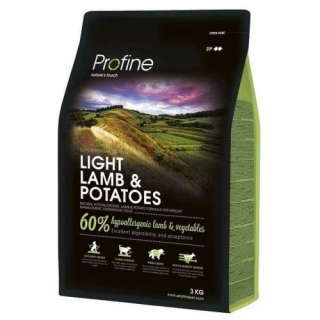 Profine Light Lamb & Potatoes 3kg