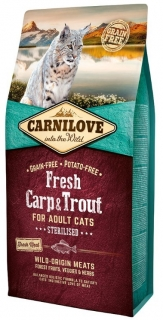 Carnilove Cat Fresh Carp & Trout Sterilised 6kg