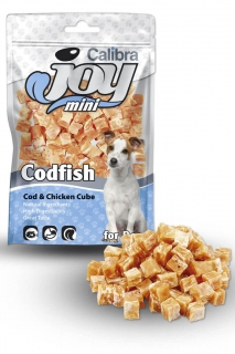 Calibra Joy Dog Mini Cod & Chicken Cube 70g
