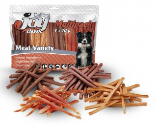 Calibra Joy Dog Multipack Meat Variety Mix 4x70g