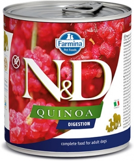 N&D DOG QUINOA Digestion Lamb & Fennel 285g