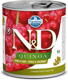 N&D DOG QUINOA Duck & Coconut 285g