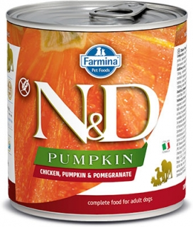 N&D DOG PUMPKIN Adult Chicken & Pomegranate 285g