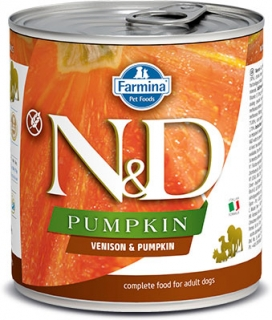 N&D DOG PUMPKIN Adult Venison & Pumpkin 285g