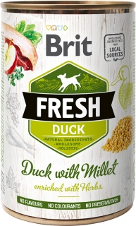 Brit Fresh Duck with Millet 400g