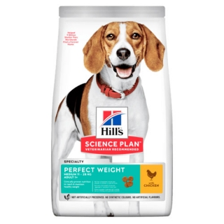 Hill's Ca SP Perfect Weight Adult Medium Chicken 12kg