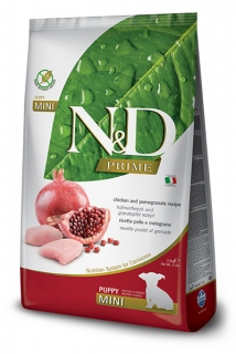 N&D Prime Dog Puppy Mini Chicken & Pomegranate 2,5kg
