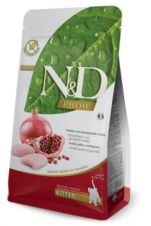 N&D Prime Cat Kitten Chicken and Pomegranate 1,5kg