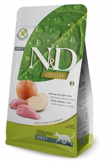 N&D Prime Cat Adult Wild Boar and Apple 1,5kg
