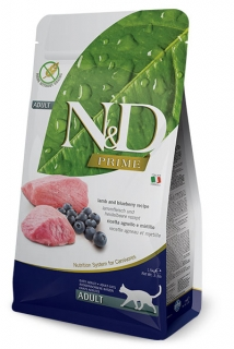 N&D Prime Cat Adult Lamb and Blueberry 1,5kg