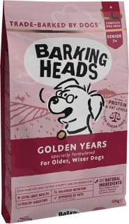 BARKING HEADS Golden Years 12kg +2kg ZDARMA!