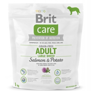 Brit Care Grain-free Adult Large Breed Salmon & Potato 1kg