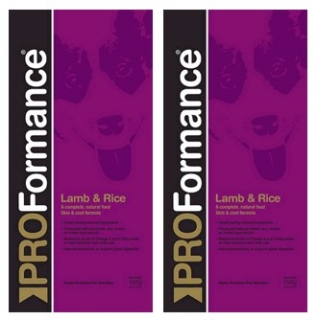 PROFormance Lamb & Rice 2x15kg
