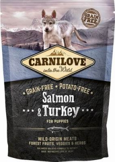 Carnilove Salmon & Turkey for Puppies 1,5kg
