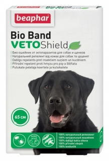 Beaphar Obojek antipar. pes Bio Band Plus Veto Shield 65cm