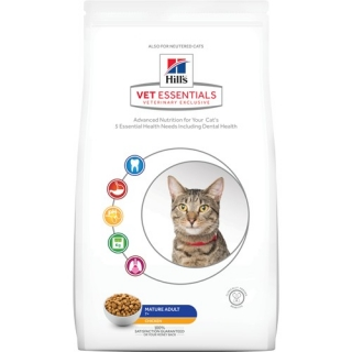 Hill's Feline VetEssentials Dry Mature Adult 1,5kg